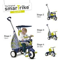 Smart Trike Groove Kids Trike, 4 In 1 Childrens Ride On Tricycle - Green