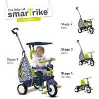 Smart Trike Groove Kids Trike, 4 In 1 Childrens Ride On Tricycle - Green