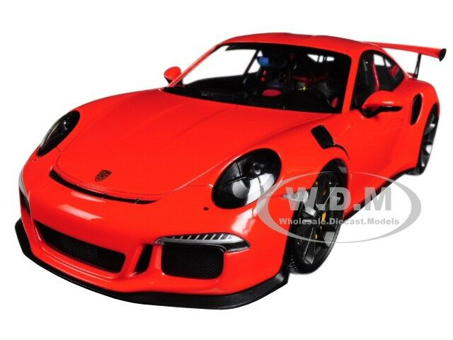 2015 PORSCHE 911 GT3 RS Lava Orange LIMITED 1 18 Diecast voiture par Minichamps 155066220