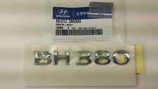 08 09 Hyundai Genesis BH380 Logo Rear Trunk Emblem #185