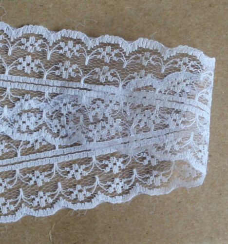 40mm and 30mm Vintage Style Flat Lace Double Edged