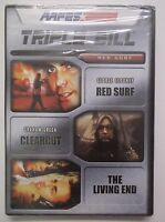 Red Surf, Clearcut, The Living End Dvd Triple Bill Aafes Rare Georg Clooney