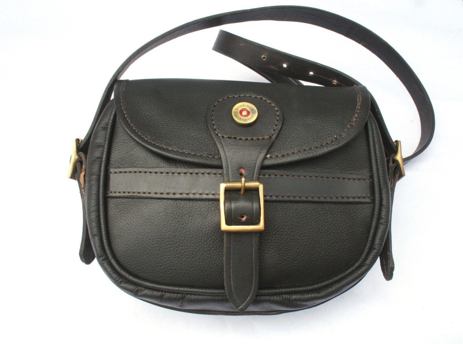Cartridge Head Leather Shooting Cartridge Bag 75 Capacity Shooting Gift