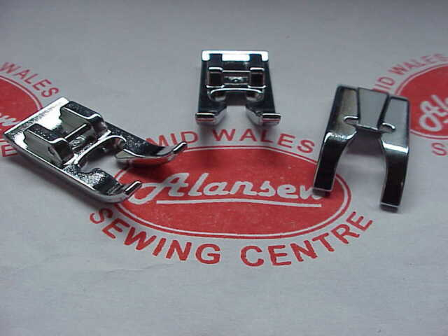 Brother Metal Open Toe Quilting Domestic Sewing Machine Clip on/off Presser Foot