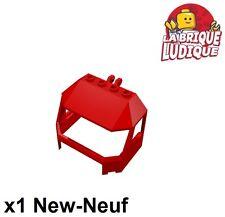 Lego - 1x Windscreen 4x6x4 train cabine cockpit rouge/red 60098 45406 NEUF