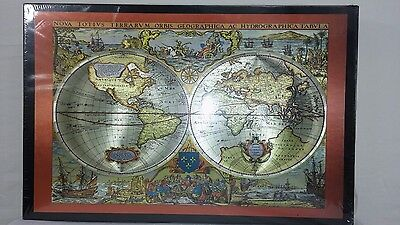 Map jigsaw collection on ebay new piatnik puzzle 1000 pieces metallic antique map of the world 557743 austria gumiabroncs Gallery
