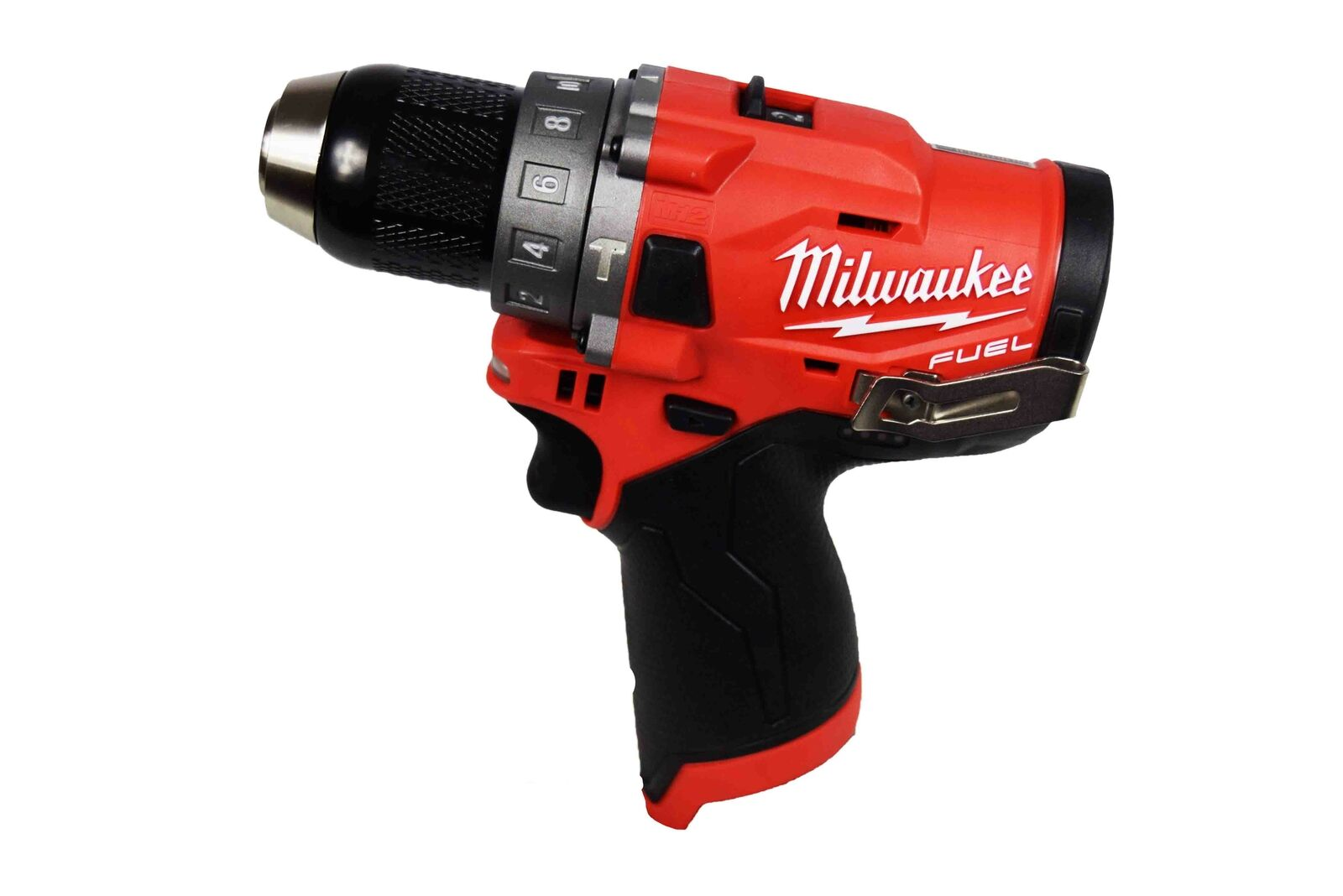 2504-20 davidstoolsandmore Milwaukee 2504-20 M12 Fuel 12-volt Brushless 1/2 In. Hammer Drill (tool-only)