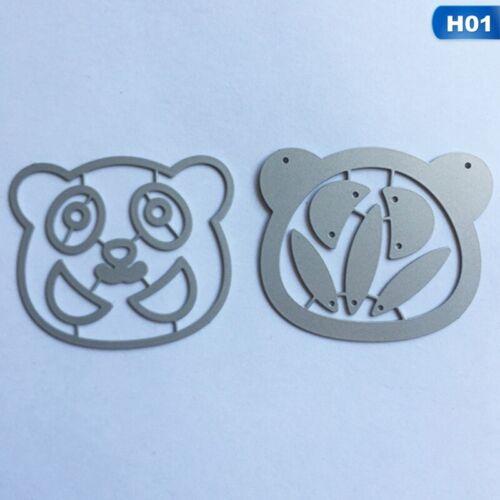 Cutting Dies Metal Stencil DIY Scrapbooking Embossing Paper Card Craft Dies Gift