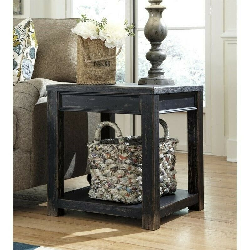 Ashley Zenfield Medium Brown Square End Table T870 2 For Sale Online Ebay