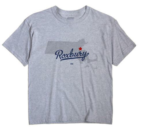 Roxbury Massachusetts MA Mass T-Shirt Boston MAP