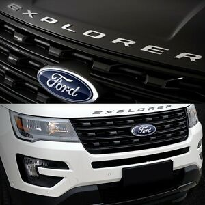 image is loading 2011 2017 ford explorer sport silver black hood