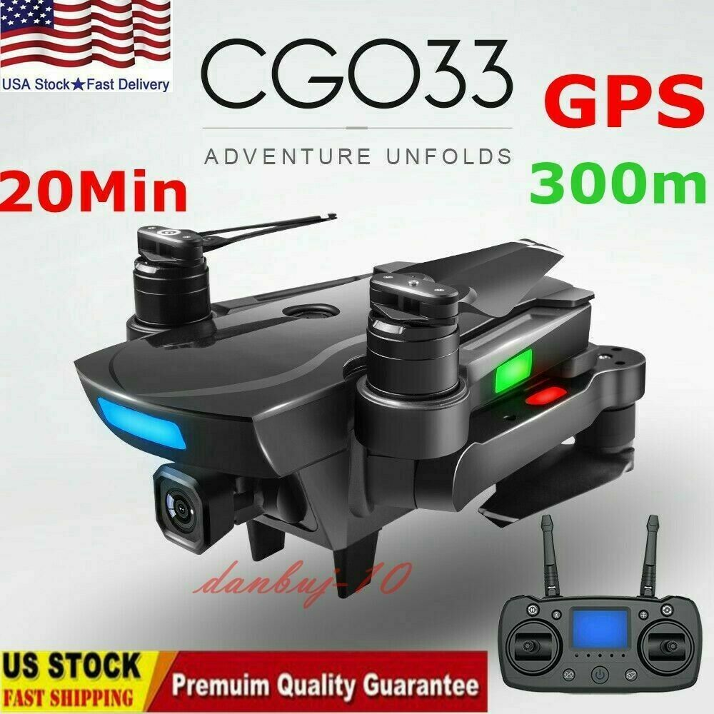 GPS Drones 1080P HD telecamera Brushless Motor WiFi FPV  RC Quadcopter Headless Mode  negozio outlet