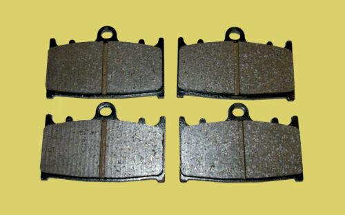 2 pairs GG road 1990-1998 Kawasaki GPZ900R front brake pads FA158 style