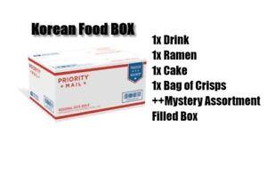 Korean-Dagashi-Snack-Box-MYSTERY-Cake-Chips-Crisps-Ramen-Drink-Fast-Ship