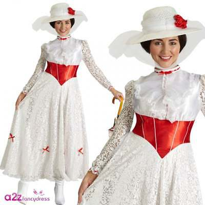 DISNEY MARY POPPINS & BERT CHIMNEY SWEEP ADULT MENS LADIES FANCY DRESS COSTUME