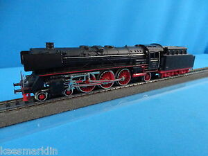 Marklin-F-800-DB-Locomotive-with-tender-Black-vers-2-1952-53-OVP