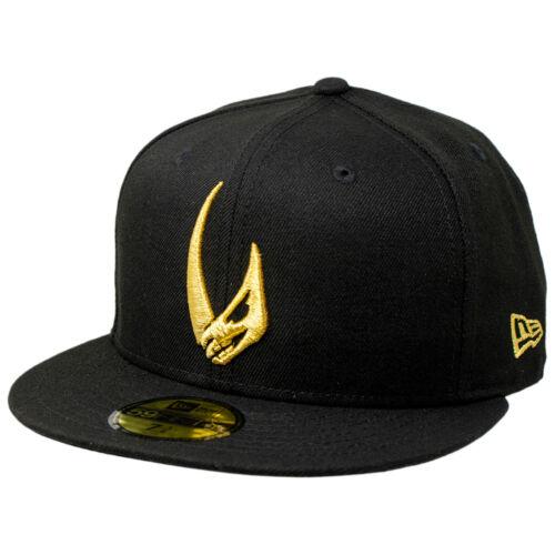 Star Wars The Mandalorian Mudhorn Sigil New Era 59Fifty Fitted Hat Black