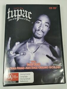 Tupac-Live-At-The-House-Of-Blues-DVD-2005-VGC