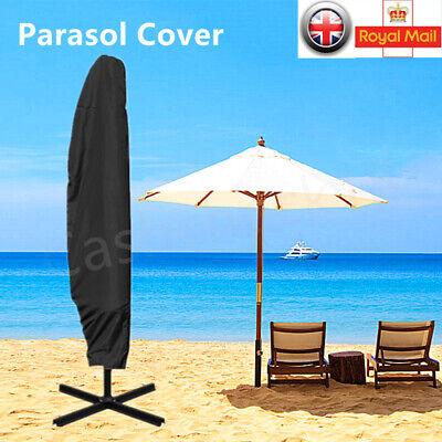 Ombrellone Banana Copertura Umbrella 210d Impermeabile A Sbalzo Da Giardino Veranda Uk- Rendere Le Cose Convenienti Per Le Persone