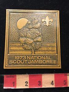 Vintage-amp-Large-1973-National-Scout-Jamboree-Boy-Scouts-Patch-86N6