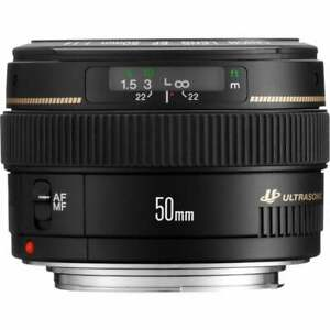Canon-EF-50mm-f-1-4-USM-Camera-Lens-New-Boxed