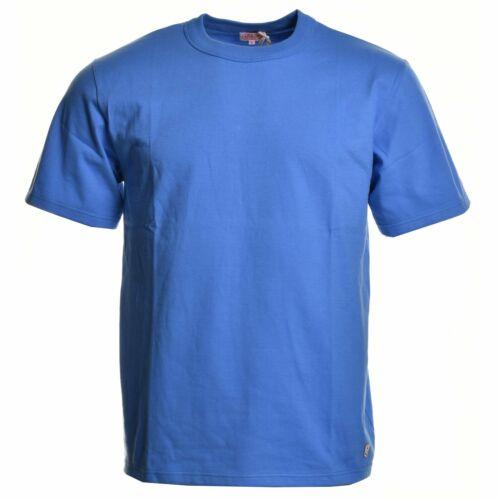 Armor Lux Mens Classic T Shirt  Lapis Blue