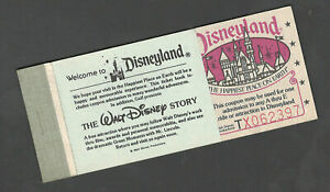Disneyland-Vintage-Courtesy-Guest-Ticket-Book-1980-with-all-10-Tickets