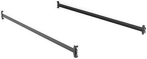 Twin Size Hook on Bed Frame Rails with Cross Tie Wires