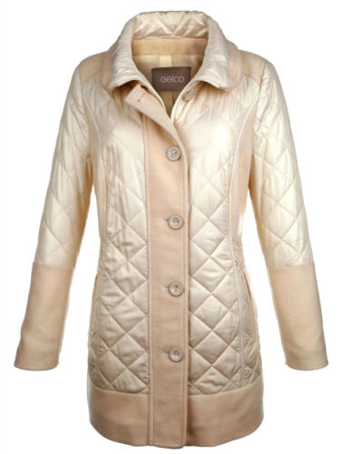 MIS MIS 50 011819294 6 42 MIS Cappotto marca LONG Giacca Wollweiss MIS 46 44