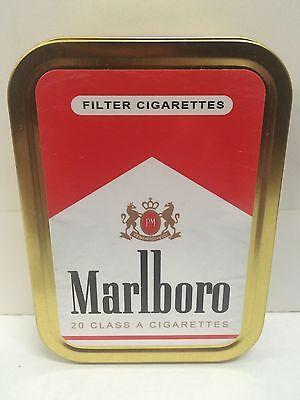 Marlboro Red Retro Advertising Brand Cigarette Tobacco Storage 2oz Tin |  eBay