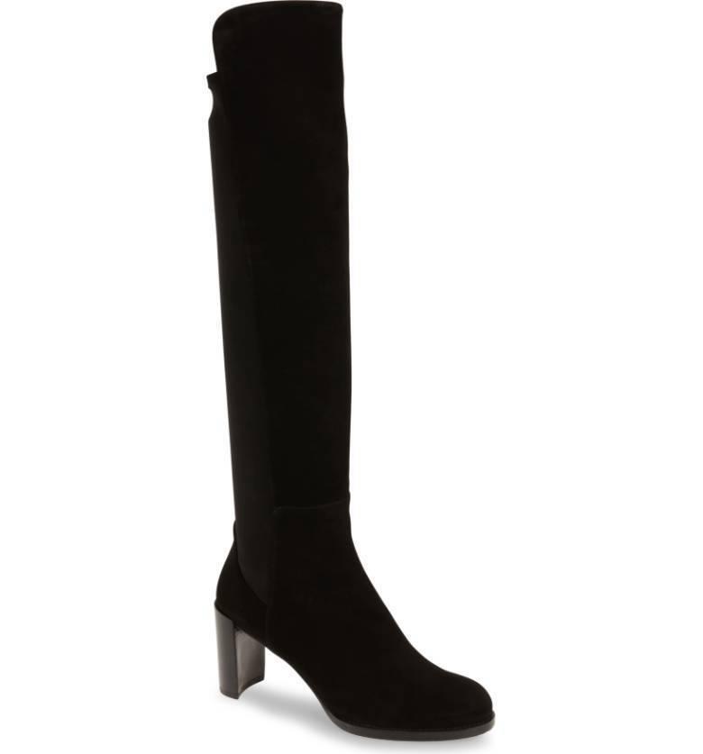 Stuart weitzman Soho Tall Elastic Back Knee High Boot 9.5 M  685