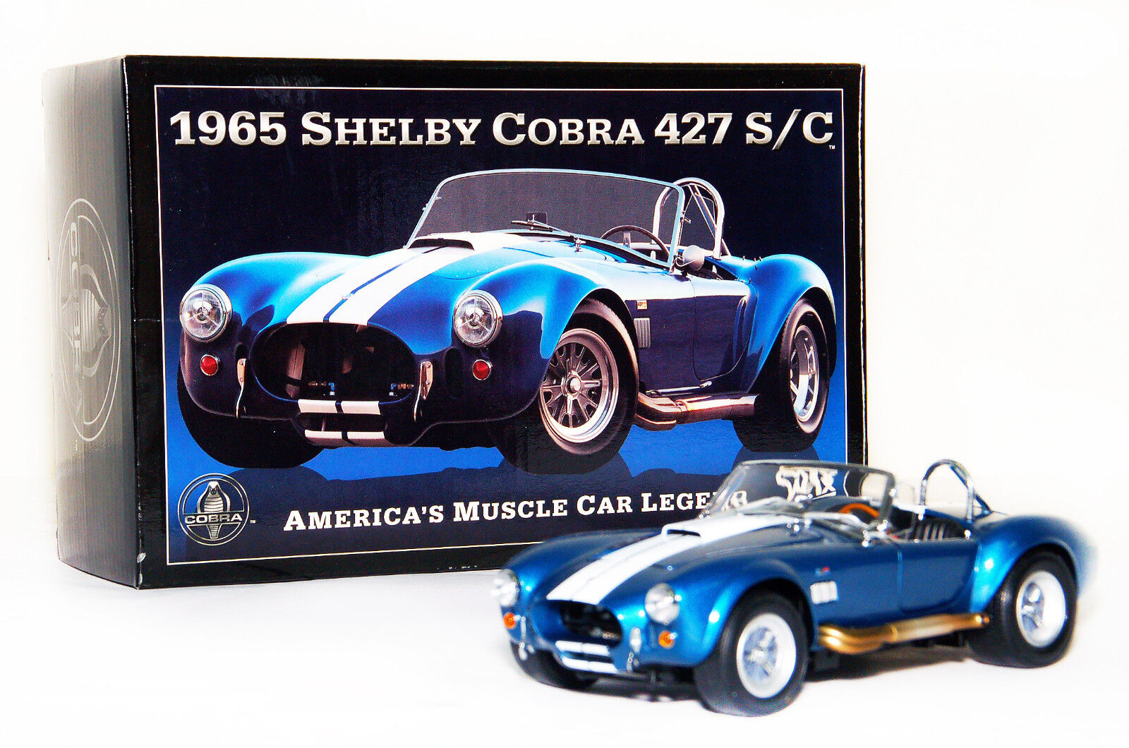 AUTHENTIC WIX CAR 1965 SHELBY COBRA 427 S/C | Diecast CraZy