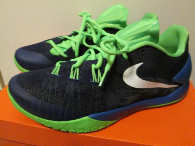 3de5727a3869 Nike Hyperchase Blue Green James Harden Basketball Athletic Shoes Size 11  NEW