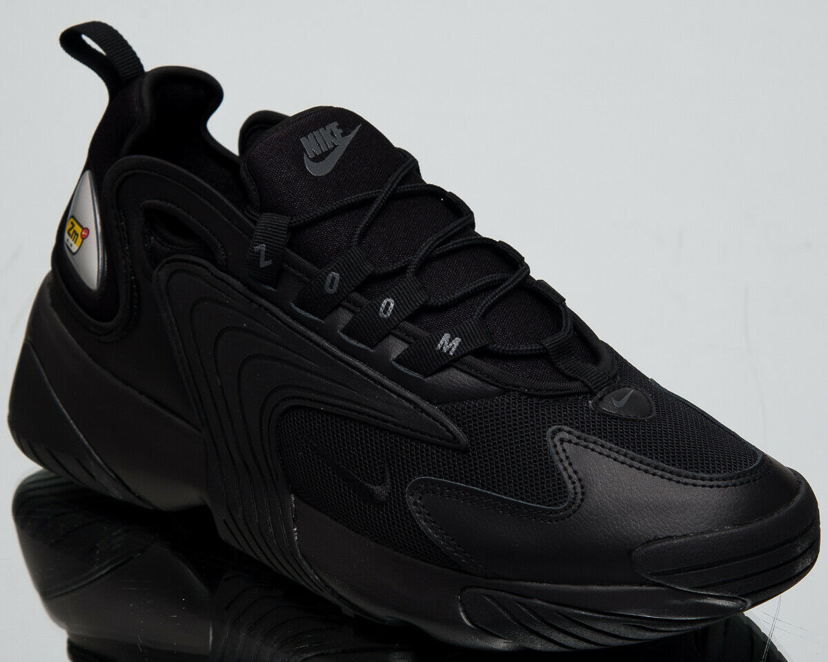 Nike Zoom 2K Men's New Triple Black shoes Casual Lifestyle Sneakers AO0269-002