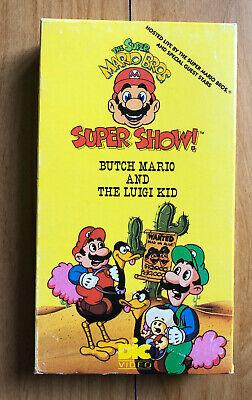 super mario bros super show luigi