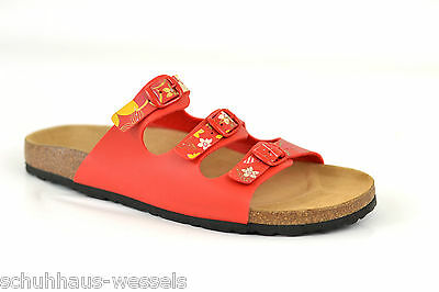 Damen Bio Tieffußbett Pantoletten Sandalen Fussbett Gr.43 Schuhe reduziert