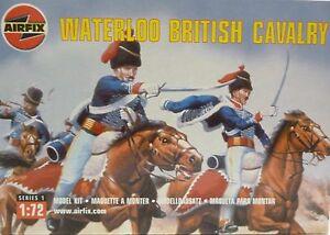 Airfix 1//72 HO Waterloo British Cavalry Red figures  1986 Box