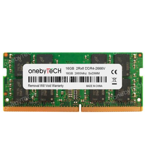 New 16GB 32GB 2RX8 PC4-2666V DDR4-2666 MHz PC4-21300S SODIMM 260 Pin 1.2v Memory