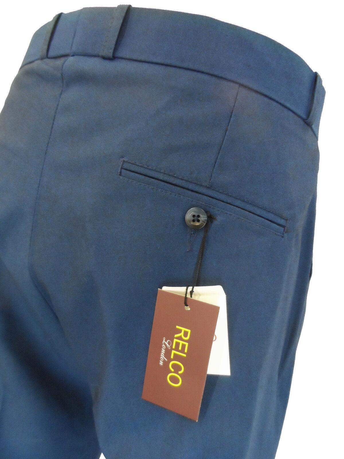 Herren Tonic Blau Blau Blau   Schwarz 60s Jahre 70s Retro-Modern Vintage Sta-Presse Hosen | Moderne und elegante Mode  | Sofortige Lieferung  | Verschiedene aktuelle Designs  | Lebhaft und liebenswert  | Neueste Technologie  4af85e
