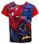 4 7 e 8 anni 6 5 Ragazzi Spiderman T-Shirt a Manica Corta Maglia a Maniche Lunghe Età 3