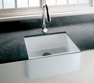 Details About Rak Gourmet 2 Belfast Style Fireclay Over Or Undermount Ceramic Kitchen Sink
