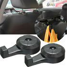 2x Universal Car SUV Seat Headrest Hanger Luggage Bag Clothes Hook Holder Black