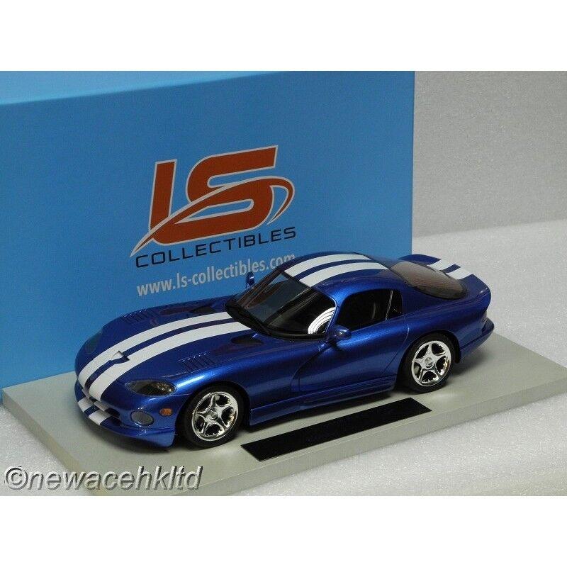 Dodge viper gts - blau ist auch 250pcs 1996 auf 1   18   ls016a