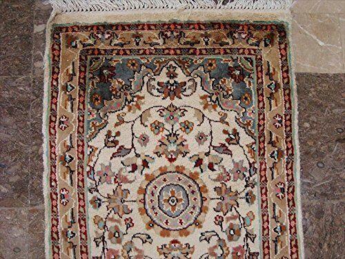 New Love Floral Medallion Medallion Medallion Hand Knotted Runner Rug Wool Silk Carpet (6 x 2)' 5236bf