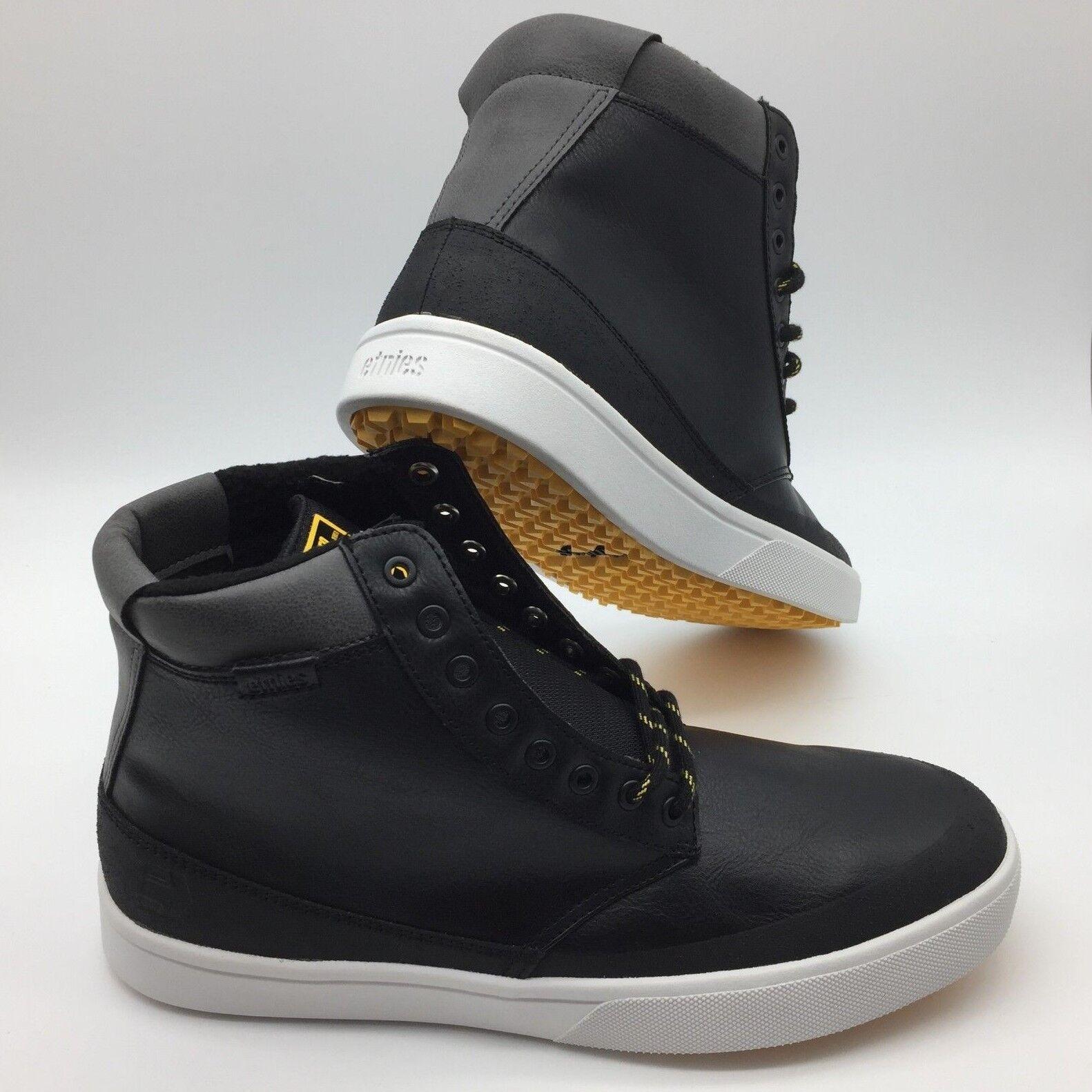 Etnies Herren Schuhe Jameson Htw Schwarz Grau Gelb