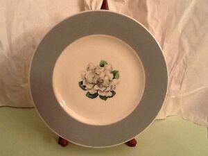 Syracuse China Avalon Magnolia Mint Condition Dinner Plate Ebay
