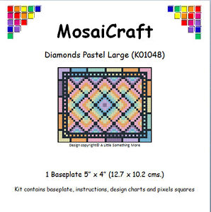 MosaiCraft-Pixel-Mosaic-Art-Kit-039-Diamonds-Pastel-Large-039-Pixelhobby