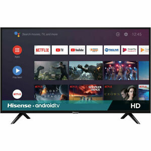 "Hisense 32H5580F 32"" HD LED Smart Android TV | 2 HDMI | Google Assistant"