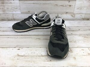 the best attitude 25f55 ff2cf Details about New Balance 574 Classic Black Suede Athletic Shoes Men Size  8.5D Sneaker M574SKW