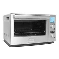 Frigidaire Professional Stainless 8 Setting 6 Slice Convection Toaster Oven